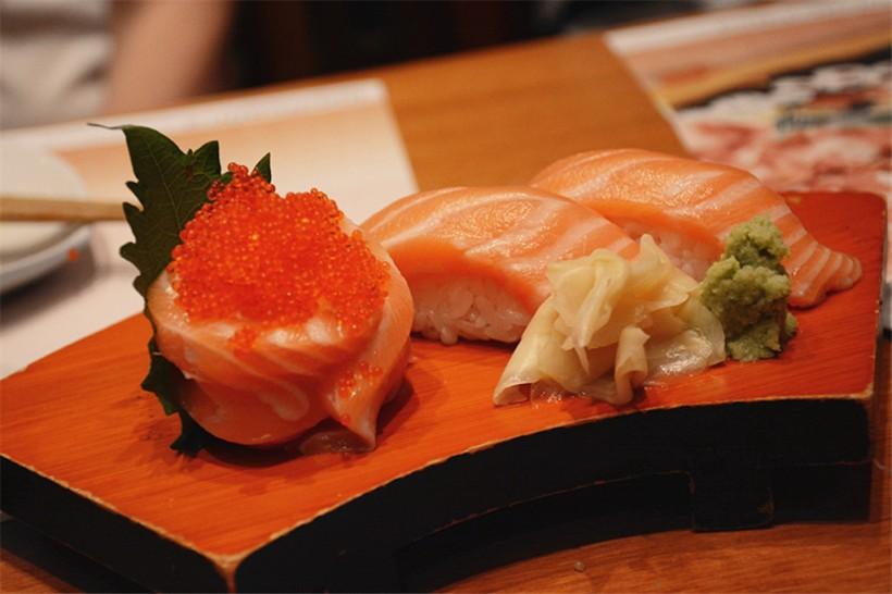 後來追加的花之戀和三文魚壽司,一樣的好味道。