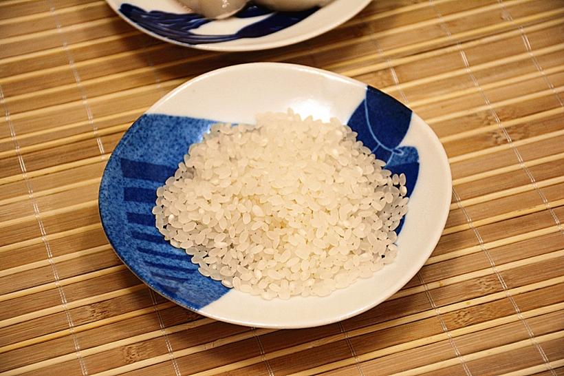 看上去和一般的日本珍珠米差不多。